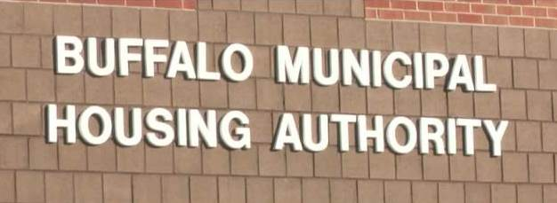 Buffalo Municipal Housing Authority Sign